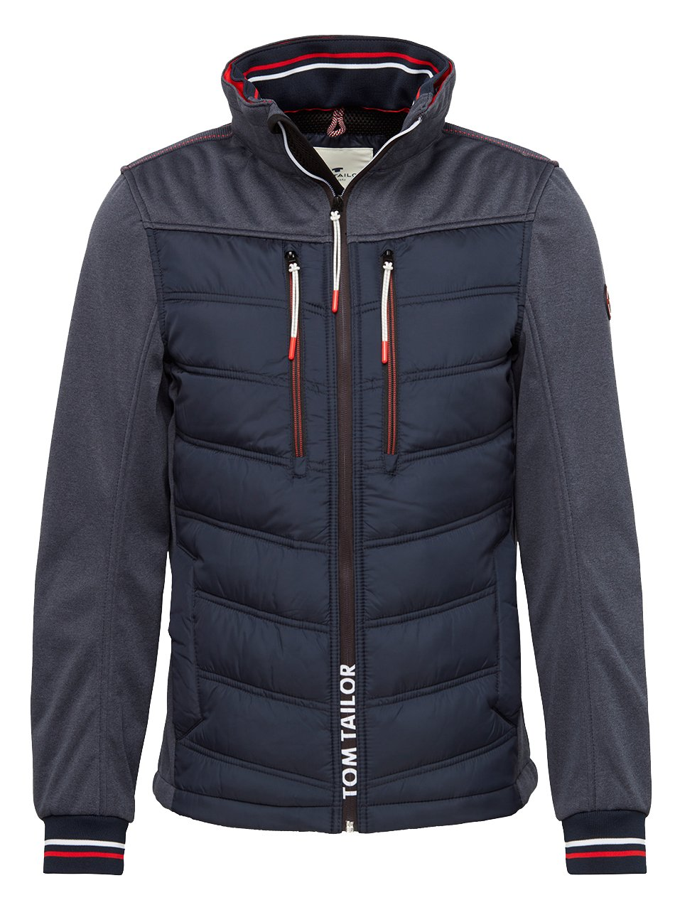 tom tailor hybrid jacke xl