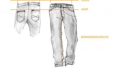 Hosen / Kleidung Größen